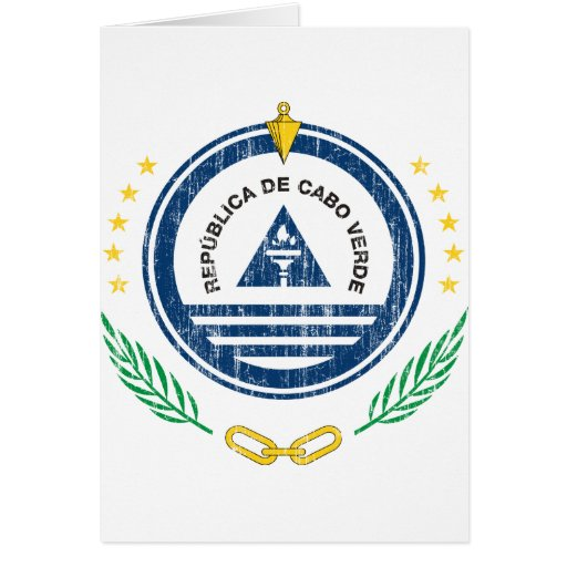 Cape Verde Coat Of Arms Cards