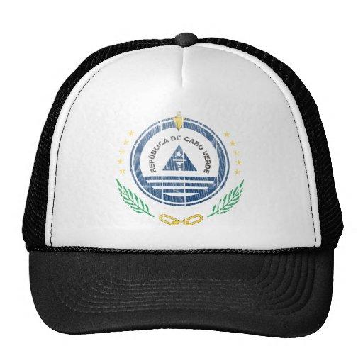 Cape Verde Coat Of Arms Mesh Hat
