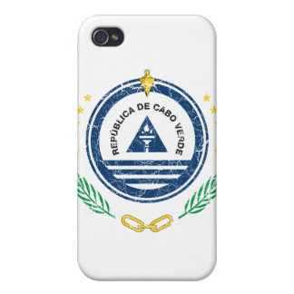 Cape Verde Coat Of Arms Covers For iPhone 4