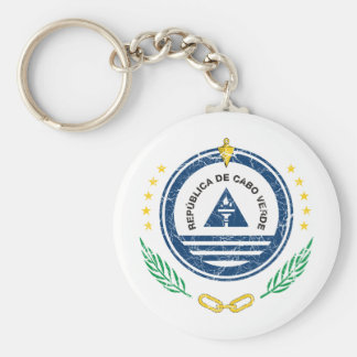 Cape Verde Coat Of Arms Keychain