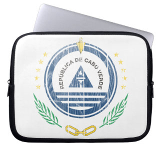Cape Verde Coat Of Arms Laptop Sleeves
