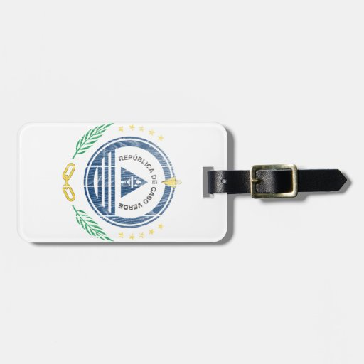 Cape Verde Coat Of Arms Tags For Bags