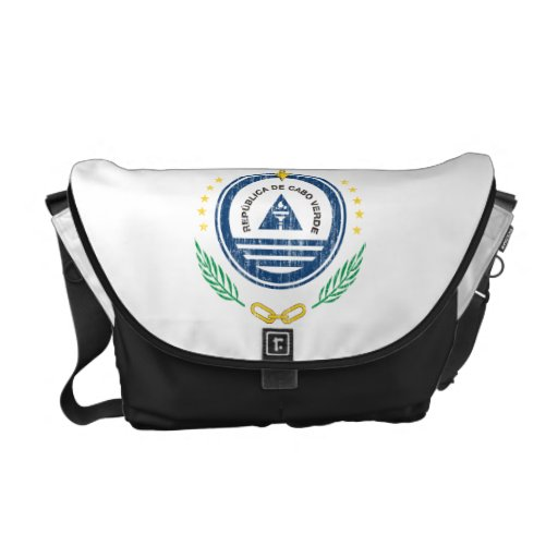 Cape Verde Coat Of Arms Commuter Bag