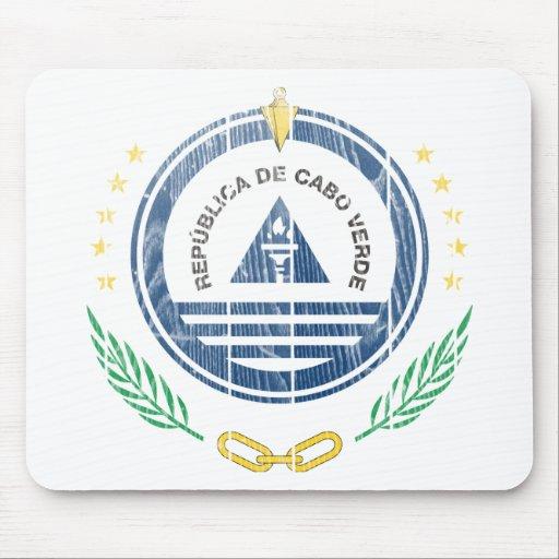 Cape Verde Coat Of Arms Mousepad