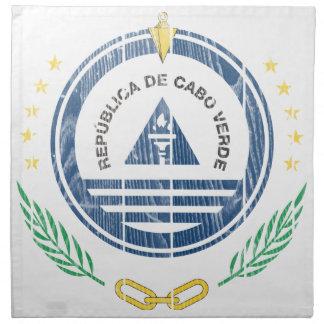 Cape Verde Coat Of Arms Napkin