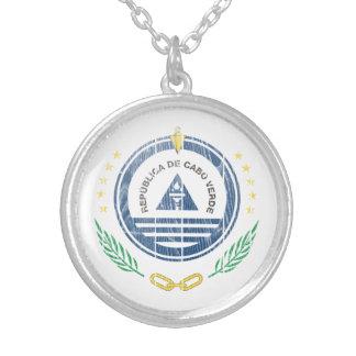 Cape Verde Coat Of Arms Custom Necklace