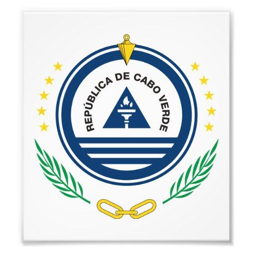 Cape Verde Coat Of Arms Photo