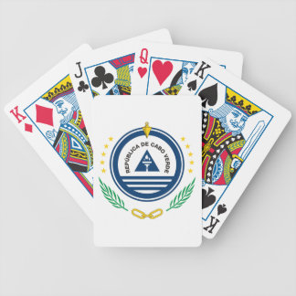 Cape Verde Coat Of Arms Poker Deck