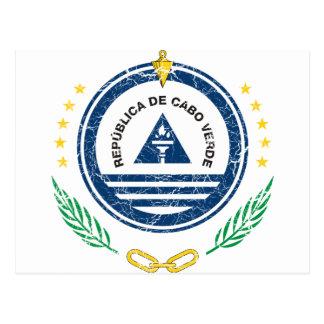 Cape Verde Coat Of Arms Postcard