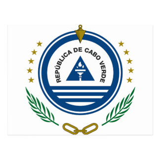 Cape Verde Coat of Arms Postcard