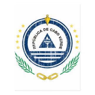 Cape Verde Coat Of Arms Postcards