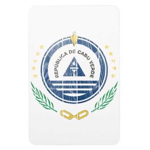 Cape Verde Coat Of Arms Rectangular Magnet