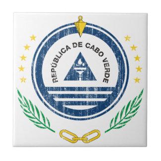 Cape Verde Coat Of Arms Tile