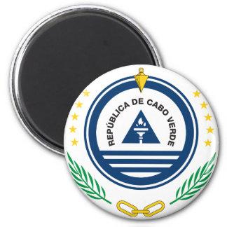 cape verde emblem 2 inch round magnet