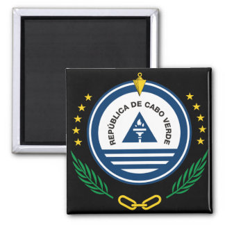 cape verde emblem square magnet