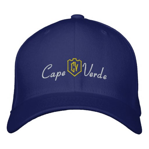 Cape Verde Embroidered Baseball Caps