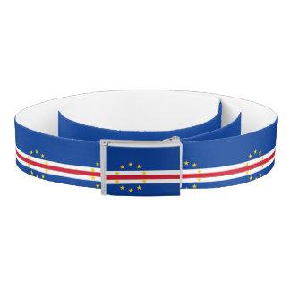 Cape Verde Flag Belt