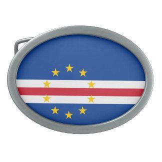 Cape Verde Flag Belt Buckle