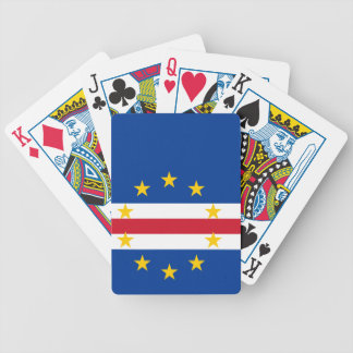 Cape Verde Flag Bicycle Playing Cards