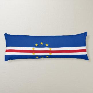 Cape Verde Flag Body Pillow