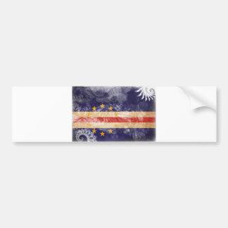 Cape Verde Flag Bumper Sticker