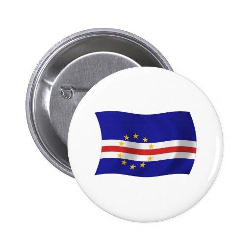 Cape Verde Flag Button