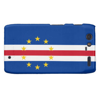 Cape Verde Flag Motorola Droid RAZR Cover