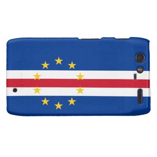 Cape Verde Flag Motorola Droid RAZR Cover