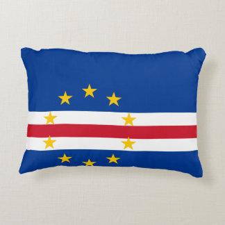 Cape Verde Flag Decorative Pillow