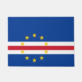 Cape Verde Flag Doormat