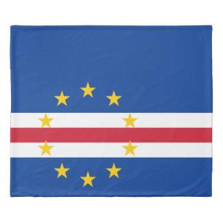 Cape Verde Flag Duvet Cover