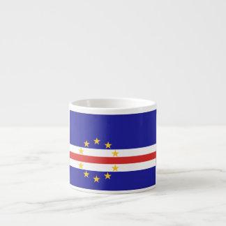 Cape Verde Flag Espresso Mug
