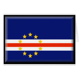 Cape Verde Flag Greeting Card