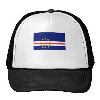Cape Verde Flag Mesh Hat