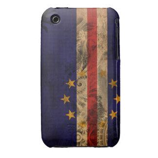 Cape Verde Flag iPhone 3 Cases