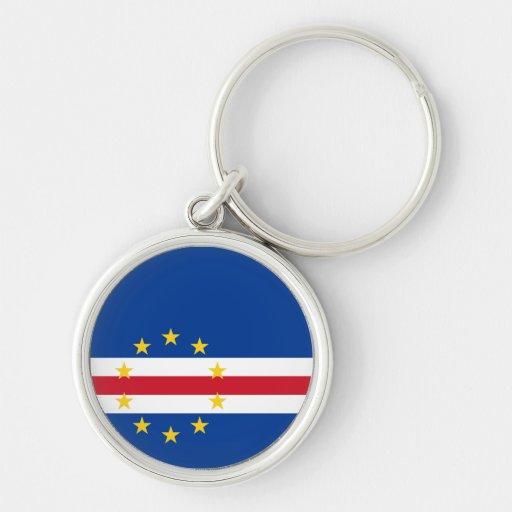 Cape Verde Flag Keychain