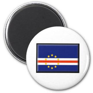 Cape Verde Flag Refrigerator Magnets
