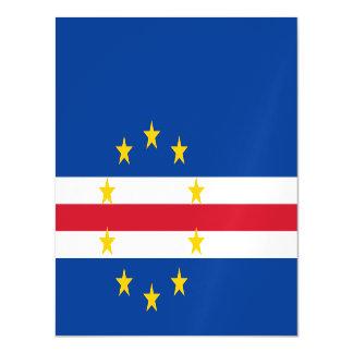 Cape Verde Flag Magnetic Invitations