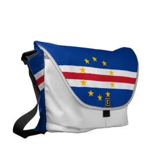 Cape Verde Flag Messenger Bag