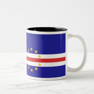 Cape Verde Flag Coffee Mug