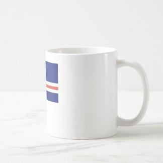 Cape Verde Flag Coffee Mugs