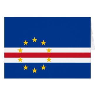 Cape Verde Flag Note Card