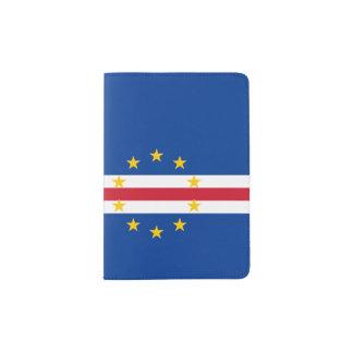 Cape Verde Flag Passport Holder