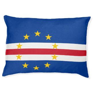 Cape Verde Flag Pet Bed