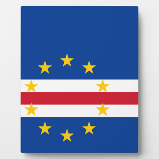 Cape Verde Flag Plaque