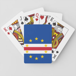 Cape Verde Flag Playing Cards