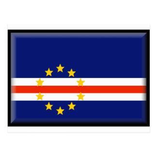 Cape Verde Flag Post Card
