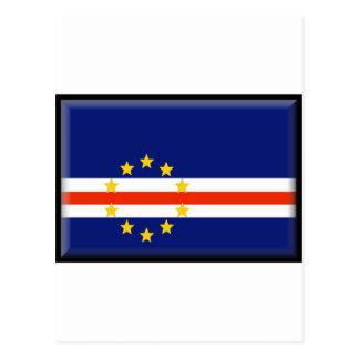 Cape Verde Flag Postcard