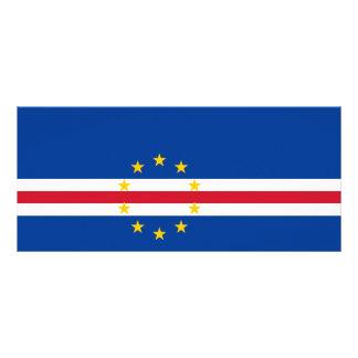 Cape Verde Flag Rack Card