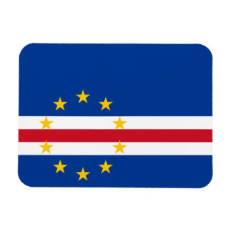 Cape Verde Flag Rectangular Photo Magnet